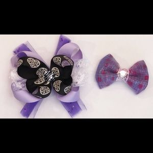 Other - Purple hair bows